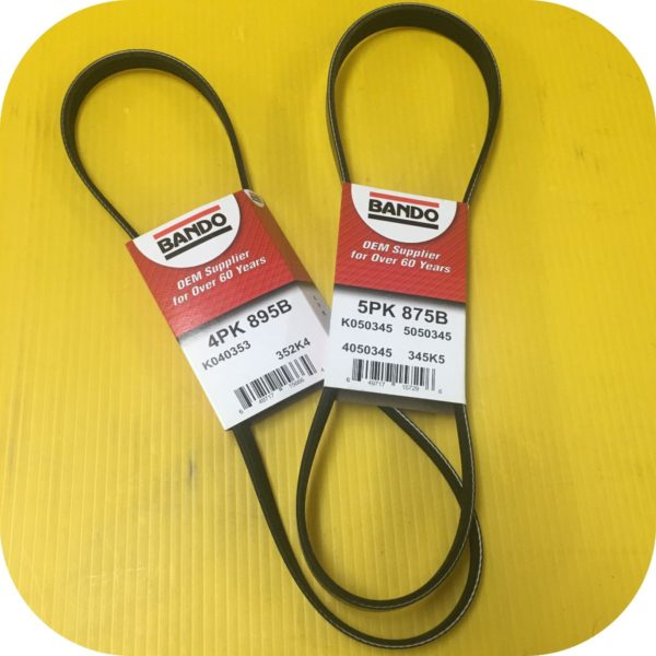 PS Alt A/C Belts for 2.5 Subaru Baja Forester Impreza Legacy Outback-0