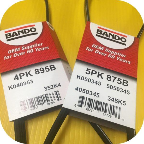 PS Alt A/C Belts for 2.5 Subaru Baja Forester Impreza Legacy Outback-21984