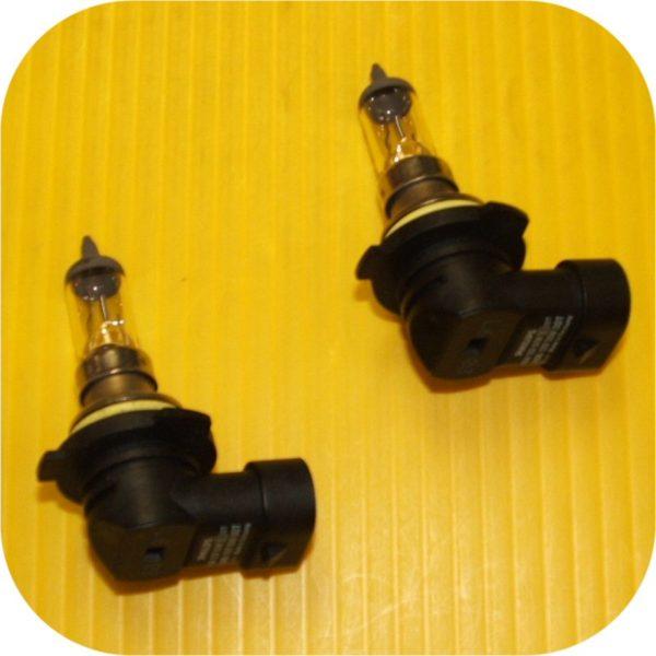 2 Headlight Bulbs for Audi A6 V8 Quattro VW Golf III Passat-0