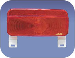 Driver Command Tail Light Assembley Camper RV Travel Trailer Pop Up License Base-0