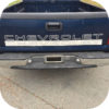 SILVER 99-07 Chevy Pickup Truck Chevrolet Silverado Tailgate Vinyl Letters Decal-21252