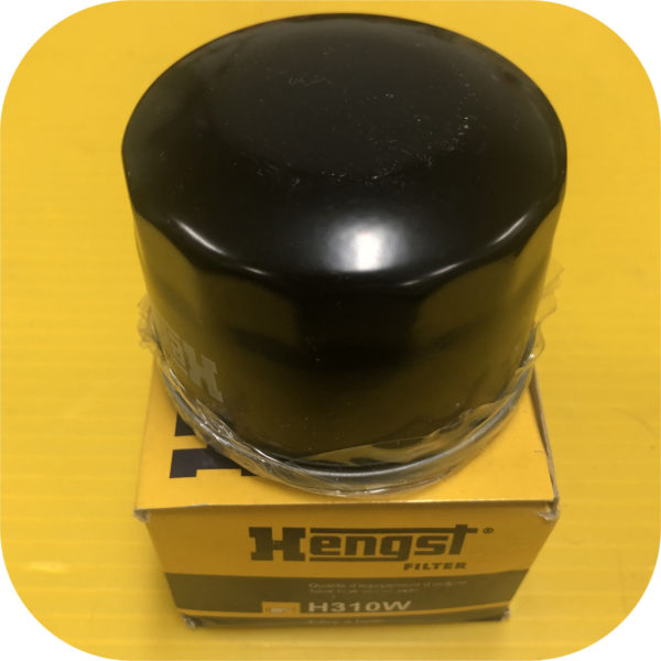 Hengst H310W Oil Filter Kit for Smart FourTwo Pure Passion Cabrio Smartcar Four Two-0