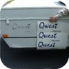 Decals for Jayco Qwest Camper Tent Travel Trailer Stickers Pop Up RV Blue (3)-0