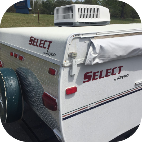 Decals for Jayco Select 12 HW Camper Tent Trailer Stickers Pop Up RV Red (2)-0