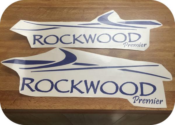 Decals for Rockwood Premier Camper Pop Up Trailer Side Stickers 2 Popup-21531