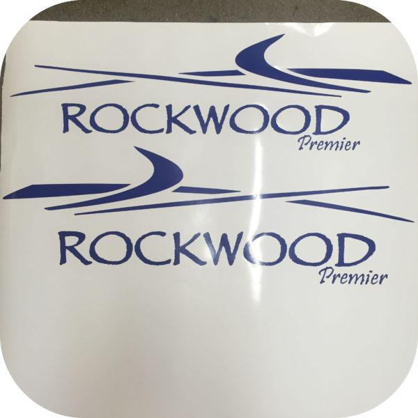 Decals for Rockwood Premier Camper Pop Up Trailer Side Stickers 2 Popup-21532