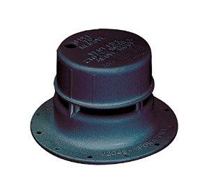 Black Sewer Vent For 1-1/2 Inch Pipe Removable Cap RV Camper Travel Trailer-0
