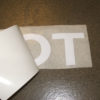 Toyota Pickup Truck Tailgate Letters Sticker WHITE Vinyl Decal Tacoma-19395