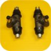 Rear Brake Wheel Cylinders Volkswagen Bug Super Beetle-8275