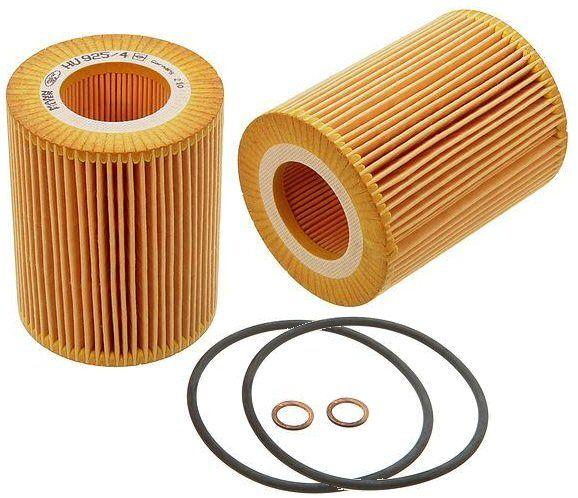2 Oil Filters BMW 525i 528i 530i E39 E60 X3 X5 330 328i-0