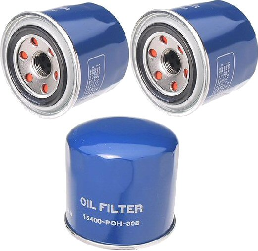 3 Oil Filters Mitsubishi 3000GT Diamante Galant Montero-0