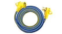 Voltec E-ZEE GRIP Power 15 Foot Extension Cord 50 amp RV camper travel trailer-0