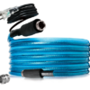 12 ft Fresh Water Heated Hose for Camper Supply Line RV Travel Trailer Winter-0