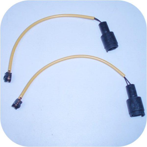 2 Brake Pad Sensors BMW M5 525 530 535 540 i E28 E34-0