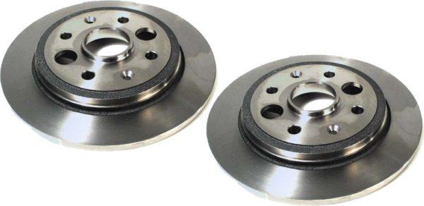 Rear Disc Brake Rotors for Acura Integra 86-89 D16-0