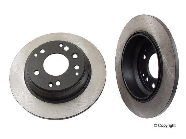 Rear Disc Brake Rotors for Acura RL 3.5 99-01 C35A1-0
