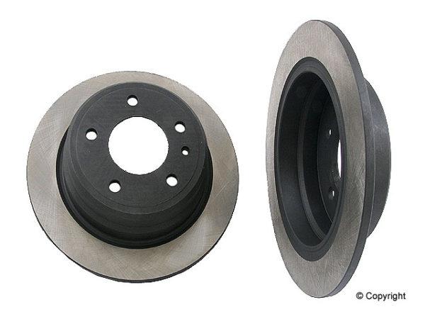 Rear Brake Rotors BMW 528 533 535 633 635 M5 M6 E28 E24-0