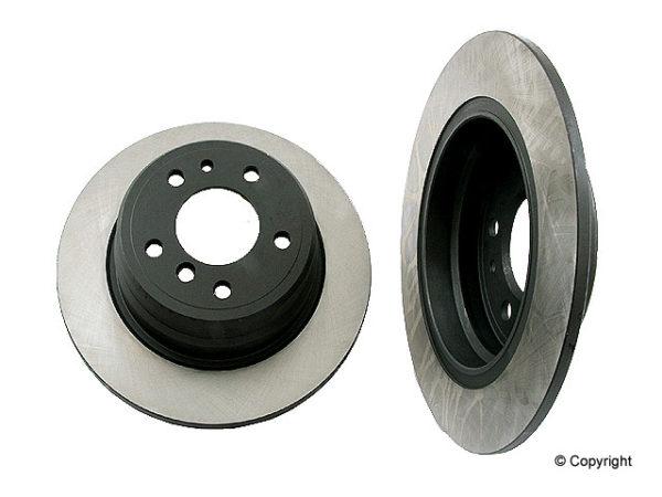 Rear Disc Brake Rotors BMW 525 530 535 i E34 525i 530i-0