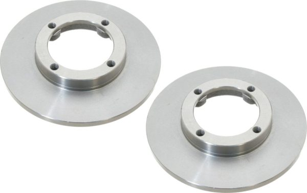 Pair Front Disc Brake Rotors Chevy Sprint Geo Metro-0