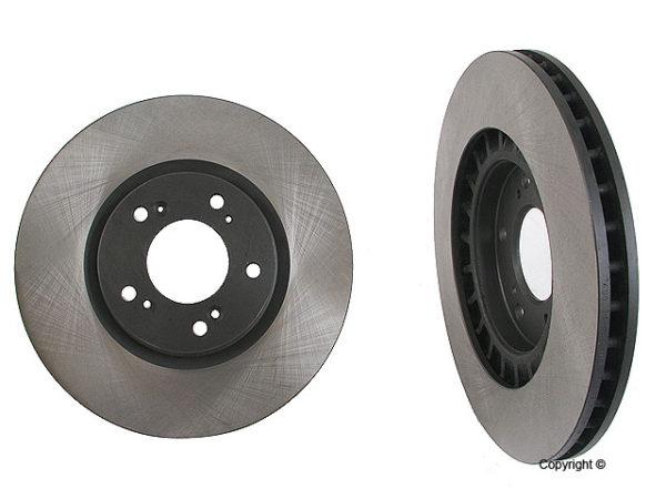 2 Front Disc Brake Rotors Honda S2000 00-05 F20C1 F22C1-0
