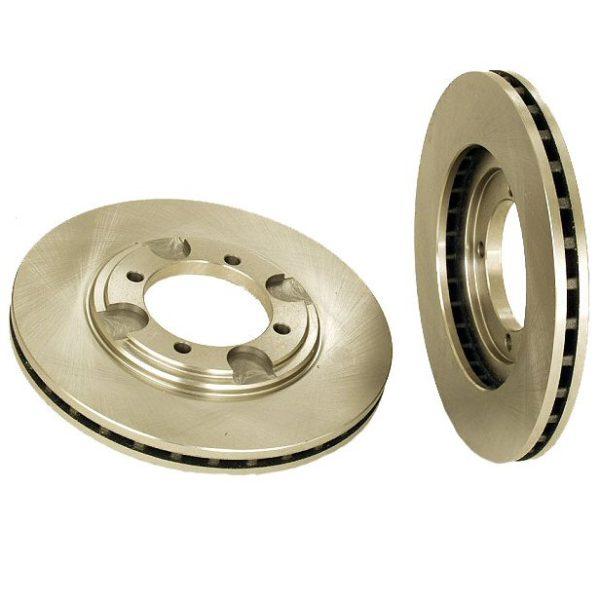 Front Disc Brake Rotors Hyundai Elantra Tiburon 92-98 2-0