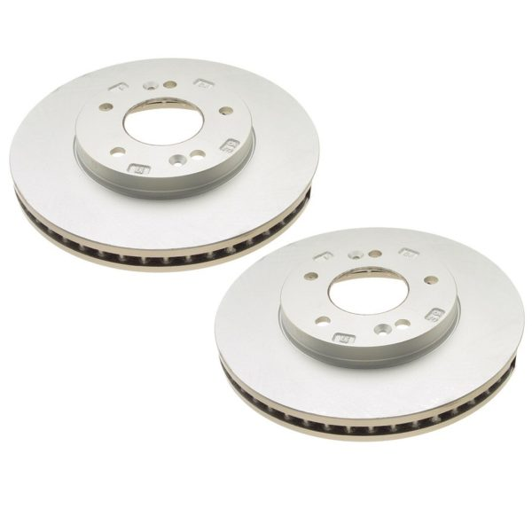 Front Disc Brake Rotors Hyundai Sonata XG300 XG350 Pair-0