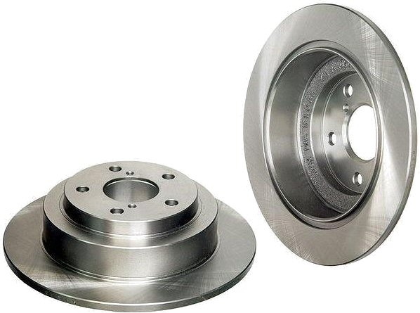 2 Rear Brake Rotors Subaru Legacy Impreza Forester WRX-0