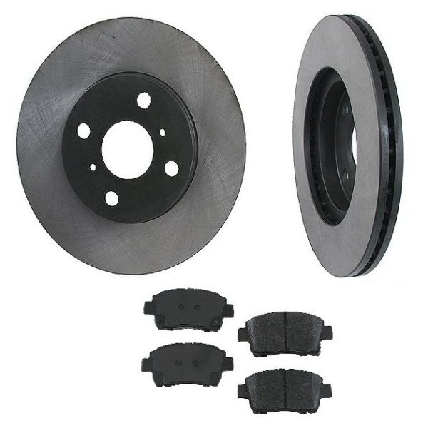 Front Disc Brake Rotors & Pads Scion Xa & Xb 04-06-0