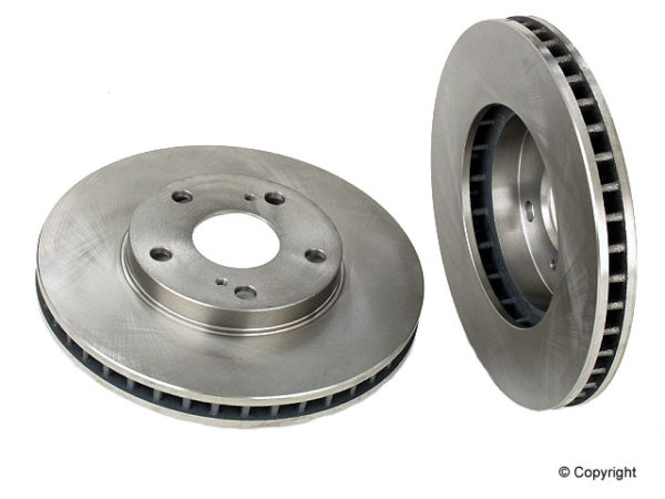 Front Disc Brake Rotors Toyota Camry Solara Sienna pair-0