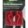 Knife Sharpener Ceramic whiting stone Pocket Keychain Camp Kitchen Tool-19921