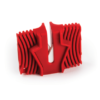 Knife Sharpener Ceramic whiting stone Pocket Keychain Camp Kitchen Tool-0