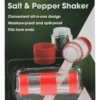 Campers Salt and Pepper Shaker Picnic Table Spice RV Compact Holder-19894