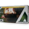 Portable Folding Propane Fire Pit Campfire Camping Survival Style Camper RV Lava-6680