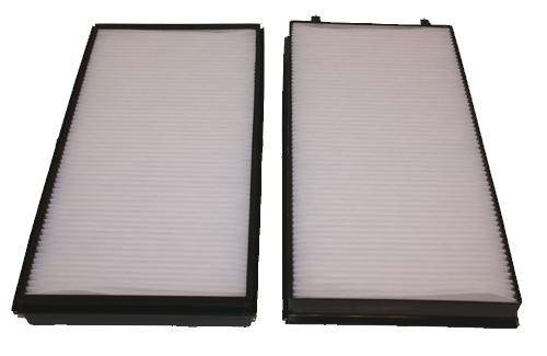 Pair of Cabin Air Filter for BMW 745Li 745i 750Li 750i 760Li 760i E65 E66 02-07-0