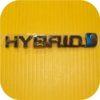 Side Hybrid Badge Emblem for Toyota Prius Electric Car-0