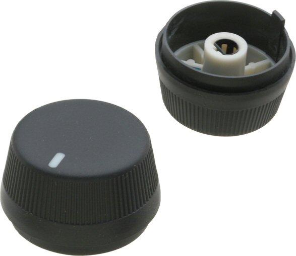 PAIR Heater Control Knob Honda Accord 98-02 F23A1 J30A1-0