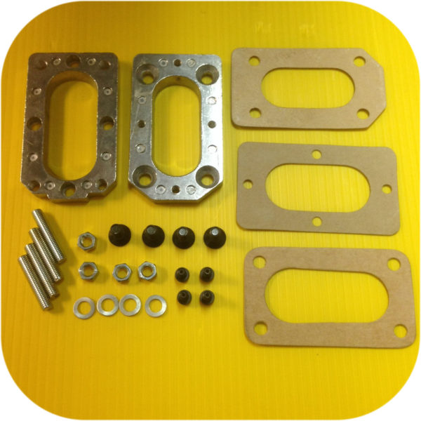 Weber Carburetor Manifold Adapter Subaru E82 85-87 DL GL Carb 1.6 1.8 Kit-0
