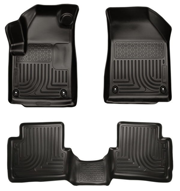 2013-2015 Dodge Dart Husky Liners All Weather WEATHERBEATER Set Floor Mats F&R-0