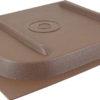 """Brown 11-11/16""""x11-7/8"""" Screen Door Slide plastic cover Camper Travel Trailer RV-0"""