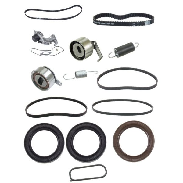 Timing Belt Kit for Acura RL 3.5 96-04 w/ Water Pump Seals-0