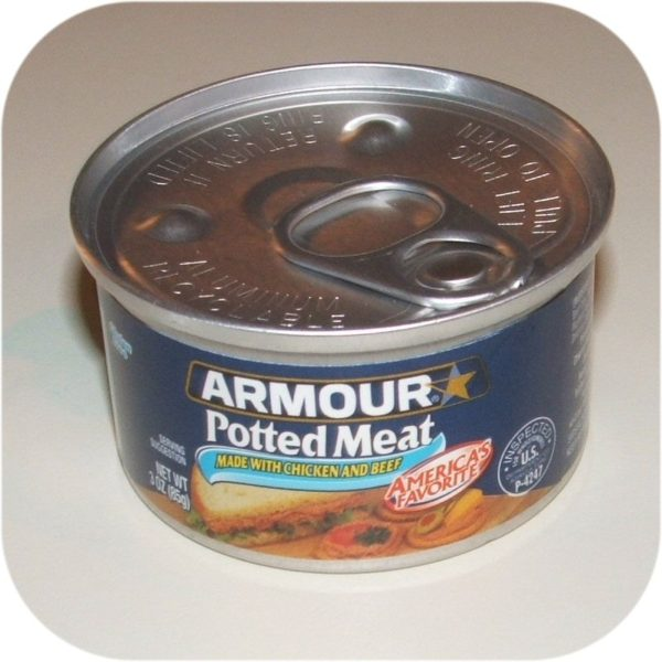 Armour Star Potted Meat 3 oz Can Sandwich Meat Spread-0