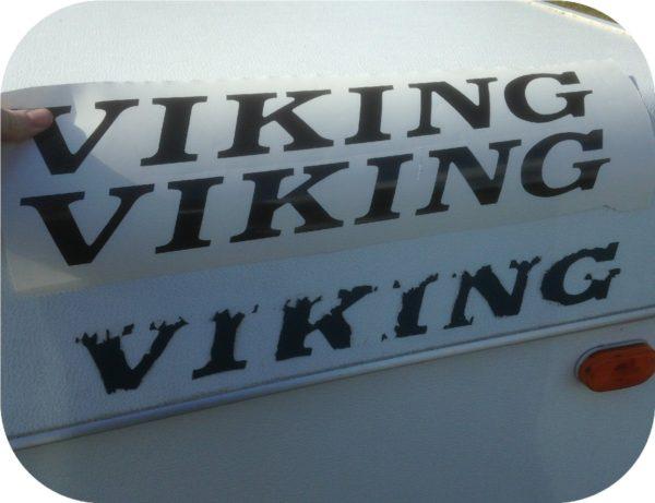 Decal for Viking Pop Up Camper Travel Trailer Sticker Epic Legend Coachmen-0