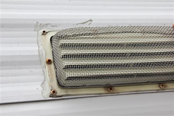 Insect Bug Screen Louver type RV stove vents Camper Travel Trailer Motorhome-20696