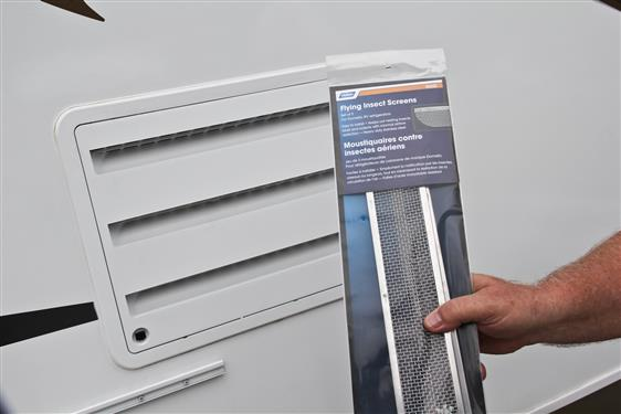 """Insect Bug Screen Refrigerator Vents 20"""" openings Camper Trailer RV Dometic-20703"""