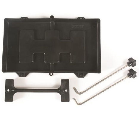 Battery Tray & Hold Down Camper Travel Trailer RV Hot Rod Buggy Tractor Top Post-0