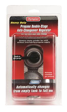 Auto Changeover LP Propane Gas Regulator Camper Travel Trailer RV Popup 2 Stage-20640