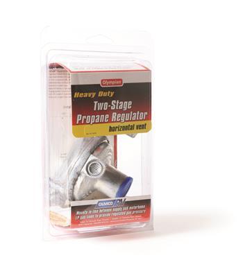 Horizontal Two Stage Propane Regulator Camper Travel Trailer RV Popup LP Gas-20657