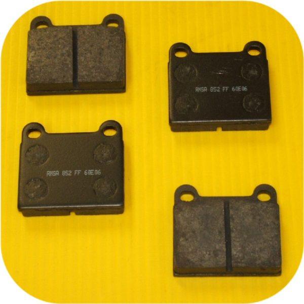 Rear Disc Brake Pads Volvo 245 262 265 740 760 780 850-0