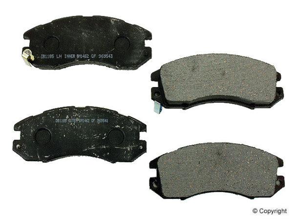 Front Disc Brake Pads SUBARU IMPREZA LEGACY OUTBACK-0