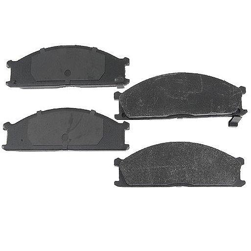 Front Disc Brake Pads for Nissan D21 Frontier Pathfinder Pickup Van Subaru SVX-0